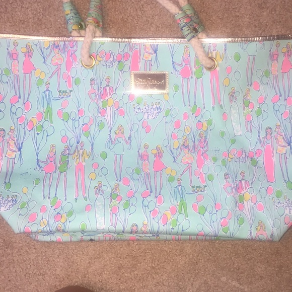 Lilly Pulitzer Handbags - Lilly Pulitzer tote
